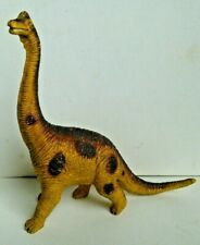 1991 Brachiosaurus Solid Rubber Pvc Plastic Dinosaur Figure Toy Model 10� Long
