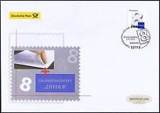 BRD 2015: Ergänzungsmarke 8 Cent! Post-FDC der selbstklebenden Nr. 3196! 1701