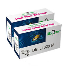 2 Magenta NON-OEM Toner Cartridge For Dell 1320 1320C 1320CN