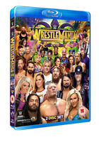 WWE: Wrestlemania 34 Blu-Ray (2018) John Cena cert 15 2 discs ***NEW***