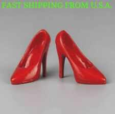 1/6 Scale RED High Heel Pumps Shoes For 12'' PHICEN Female Figure ❶USA❶