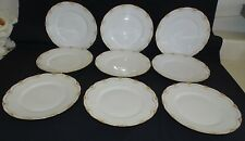Theodore Haviland Limoges France 9 Schleiger 828 Lunch Plates -Burley & Co.
