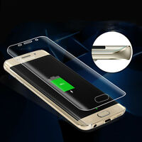 Samsung s6 Edge Plus 3D Bundled Genuine Quality Tempered Glass Screen Protector