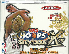 1999-2000 Fleer Skybox Hopps X Decade Basketball Factory Sealed Hobby Box