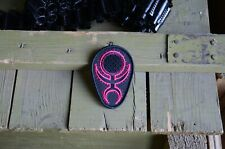 Chaos Slaanesh symbol Warhammer 40K,Tactical morale military patch