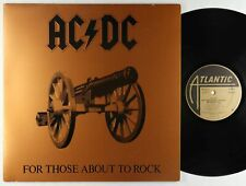 AC/DC - For Those About To Rock LP - Atlantic
