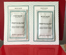 NuFACE Prep-N-Glow Exfoliating & Hydrating Dual-Sided Cloths •  Lot of 2 • New