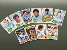 Lot cartes NFL San Diego Chargers Topps 1976 1980 1981 Football Américain