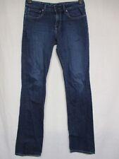 Women's CHIP & PEPPER Blue Pamela Straight Leg Jeans Stretch 27 x 34 Inseam  aa6