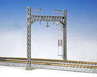 Kato 5-053 Double Wide Track Catenary Poles (6 pcs) (HO scale)