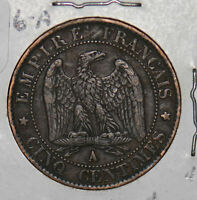 France 1856 A 5 Centimes  290011 combine shipping