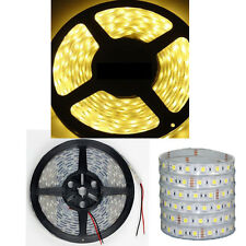 Silicone TUBE Cover IP67 Waterproof 5M 5050 SMD 300 LED Light Strip Warm White
