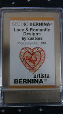 Bernina Studio Lace & Romantic Designs #526 Sue Box Embroidery Card for Artista