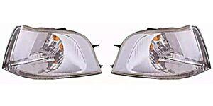 VOLVO S40/V40 2001-2004 CRYSTAL-CLEAR CORNER LIGHTS SET