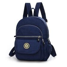 Navy Backpack Purse Nylon Small Backpack Shoulder Rucksack Bag for Women Girls