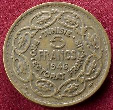 Tunisia 5 FRANCHI 1946 (C0801)
