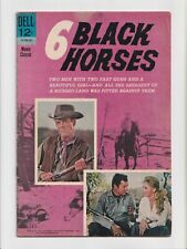 6 Black Horses #nn 12-750-301 Movie Classic Photo Cover Dell Comics 1963
