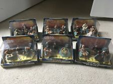 Star Wars Jedi High Council Scene 1, 2, 3, & 4 and Scene 1 & 2 Complete Sets