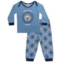 Manchester City FC Official Football Gift Boys Kids Baby Pyjamas