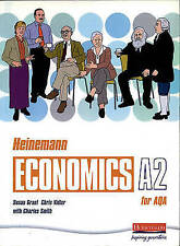 Heinemann Economics for AQA: A2 Student Book, Grant, Susan & Vidler, Chris, Used