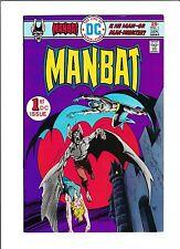 """Man-Bat No.1  : 1976 :   : """"Beware The Eyes Of Baron Tyme"""" :"""