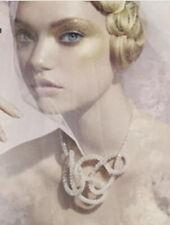 Authentic Glamours / Wedding Swarovski Necklace. Swarovski Pearly White Necklace