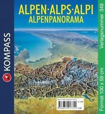 Alpenpanorama (2014, Karte)