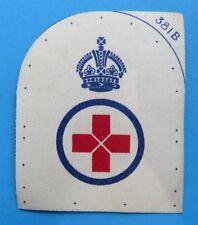 ROYAL  NAVY <>   OLD  PETTY OFFICERS  printed  MEDICS  BADGE  <>  UNUSED