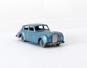 Vintage Lesney Moko Matchbox #44 Rolls Royce Silver Cloud SILVER WHEELS SPW 1958