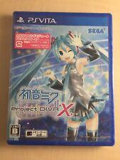 Hatsune Miku - Project DIVA - X - PS Vita Japan