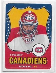 2010-11 OPC Retro #594 Patrick Roy Montreal Canadiens O-Pee-Chee