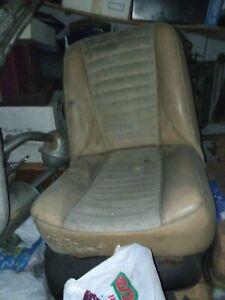 Sedile anteriore innocenti mini Leyland cooper 1000 1300 beige marrone destro