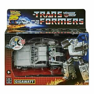 Back To The Future DeLorean Gigawatt Transformers 14 cm Action Figur Hasbro