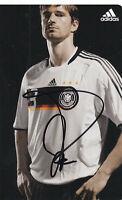 Arne FRIEDRICH - DFB-Nationalspieler, DFB-Karte EM 2008, Original-Autogramm!