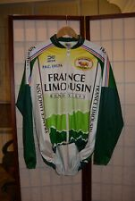 France Tour Limousin P.R.C. Delta  Gamex  vintage cycling jersey L . ALY