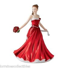 June Rose Flower of the Month Royal Doulton Figurine NEW IN THE BOX