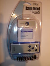 Maxell Wireless Remote Control For Ipods