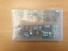 Double OREILLE CLIPS Tuyau MIXTE TAILLE ASSORTIE Pack 60 x 5mm - 21mm VARIATION