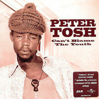PETER TOSH Can't Blame The Youth CD BRAND NEW Remastered