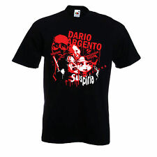 Dario Argento t shirt inferno deep red rare dvd film signed Suspiria Tenebrae