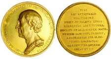 France - Jean-Jacques Barthélémy, conservateur des monnaies Médaille en or 1795