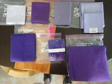 "Lot of "" Purples ""Quilting/sewing fabric"