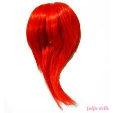 Wig for 1/3 dolls, 8-9'', cancan jseries r59a red, pullip, taeyang, isul, dal