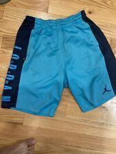 Jordan Jumpman Basketball Shorts Teal & Black (Men's Size Medium)