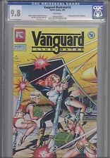 Vanguard Illustrated #2 CGC 9.8 1983  Pacific:Star Grazers 1st App. Dave Stevens