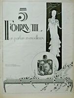 PUBLICITÉ DE PRESSE 1926 FORVIL 5 UN PARFUM MERVEILLEUX - ART DÉCO