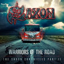Saxon - Warriors Of The Road - The Saxon Chronicles Partie II Nouveau DVD +CD