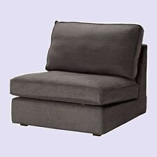 IKEA Kivik 1 One Seat Sofa Chair Cover Tullinge Gray(2nd Ships w/Discount!)Brown