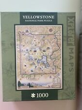 Yellowstone Map Xplorer 1000 pc Jigsaw Puzzle by Masterpieces Puzzles Co #71698