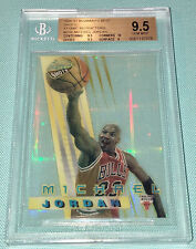 Michael Jordan 1996-1997 Bowmans Best Shots Atomic Refractor BGS 9.5 GEM (Topps)